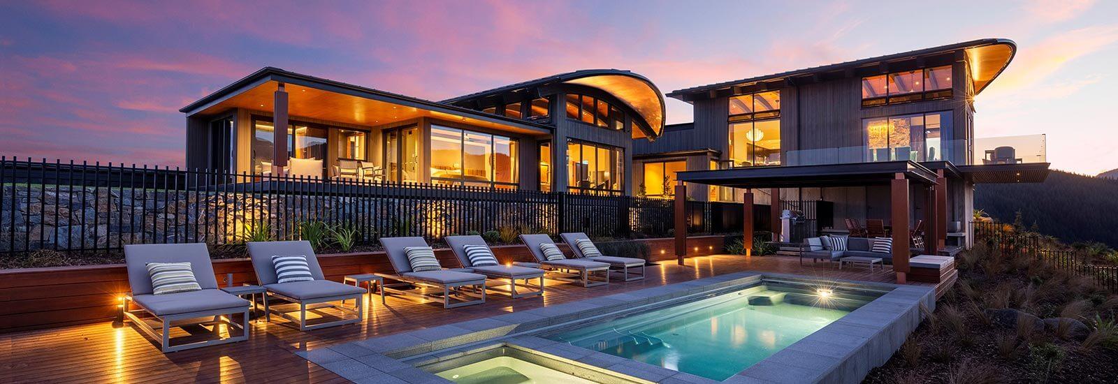 luxury accommodation New Zealand