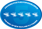Awarded Five Flies For Excellence - The Best of New Zealand Fly Fishing