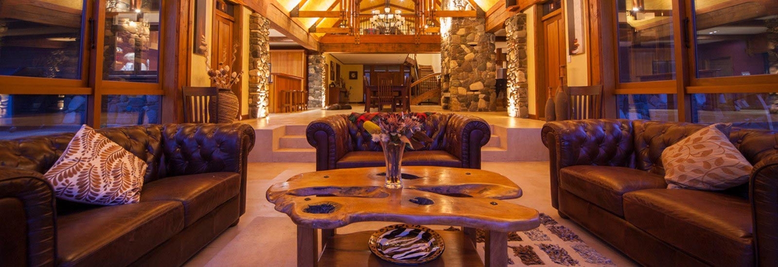 Luxury Lodge Interior